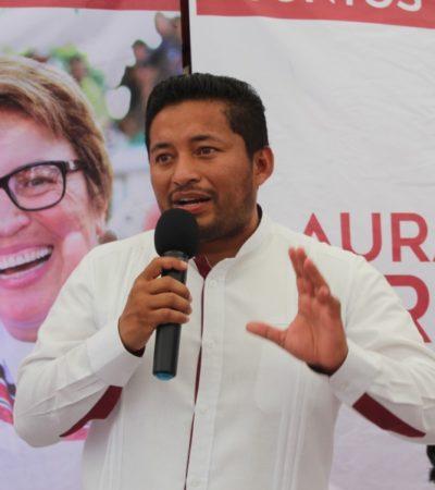 La coalición Morena-PT todavía no ha sido notificada de la revocación de Omar Sánchez Cutis a la sindicatura de Solidaridad; buscarán en las siguientes horas a un sustituto para el cargo