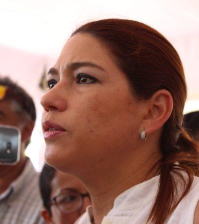 Ayuntamiento de Solidaridad procederá legalmente contra personas que dañen el patrimonio municipal, advierte Samaria Angulo
