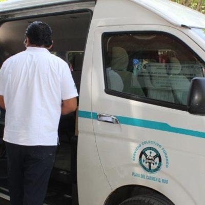 Se restablece servicio de vans hacia Felipe Carrillo Puerto desde Playa del Carmen