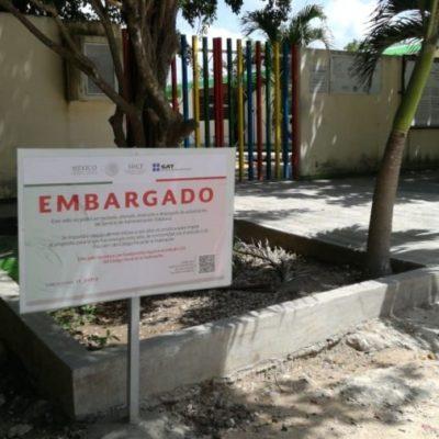 Ayuntamiento de Solidaridad inicia proceso para recuperar áreas embargadas por el SAT en el fraccionamiento El Petén
