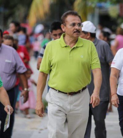 Martín de la Cruz promete programa de servicios públicos para iluminar y asegurar colonias y fraccionamientos de Playa del Carmen