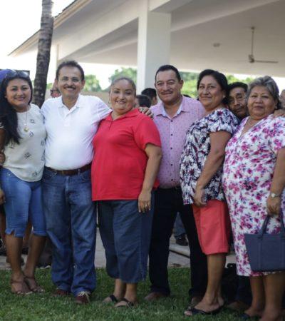 Fundadores y Pioneros de Playa del Carmen respaldan a Martín de la Cruz para Alcalde de Solidaridad