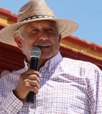Respaldará AMLO a Peña Nieto hasta el último día de su gobierno; no es 'pacto en lo oscurito' sino para evitar afectaciones económicas, dice