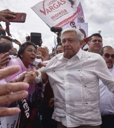 Dejen de 'azuzar' a la gente y no los perseguiré promete AMLO al 'Jefe' Diego y a Carlos Salinas