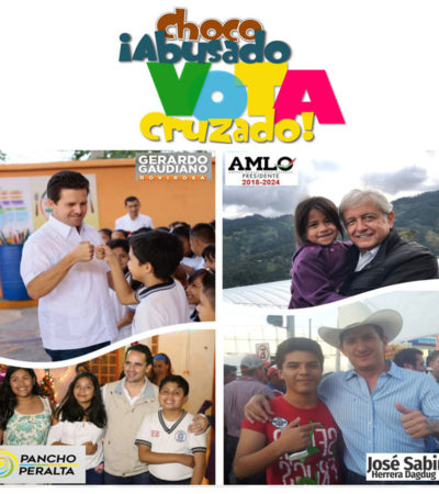 Visita de Ricardo Anaya a Villahermosa debilita el voto cruzado y desata guerra sucia contra AMLO   Por Miguel Pérez León