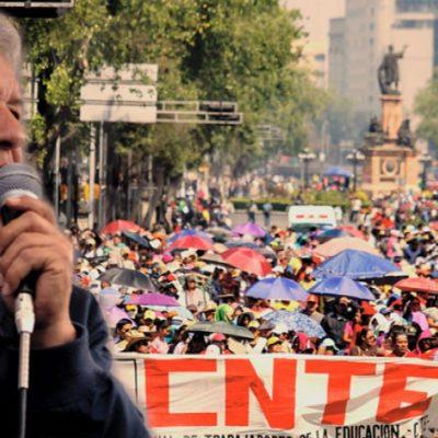 Usará AMLO diálogo y no fuerza contra maestros; ahora solo insultos reciben, dice en Oaxaca