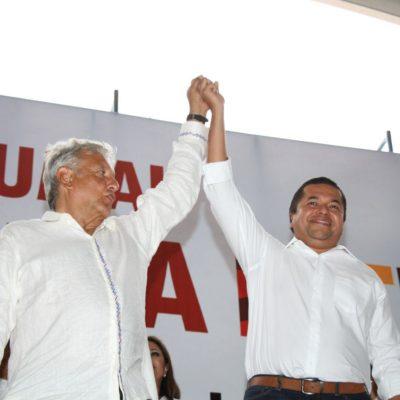 AMLO LE ALZA LA MANO A EMILIANO RAMOS E IVANOVA POOL: Confirma diputado su renuncia al PRD para unirse a Morena y demuestra su total apoyo a López Obrador