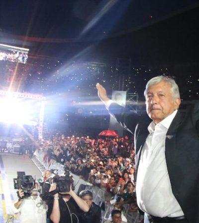 Invoca AMLO setenta años de lucha social que fructificarán con su triunfo el 1ro. de julio