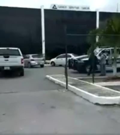 Tres hombres armados roban 500 mil pesos a empleado de la Canaco en Cancún