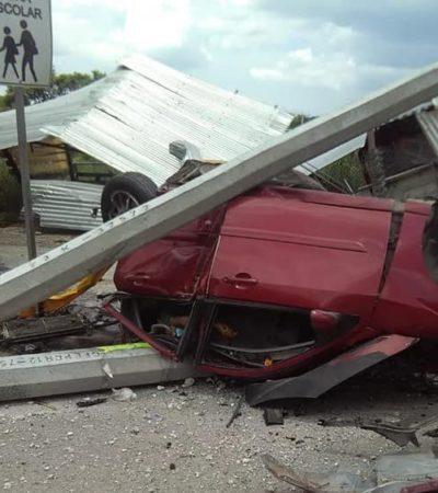 Embiste tráiler sin frenos a personas, autos y comercios en Tuxtla; 5 muertos y 20 heridos
