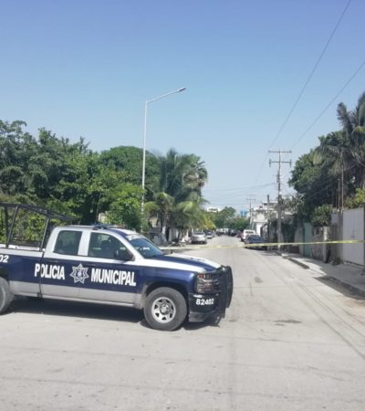 INTENTO DE EJECUCIÓN EN LA COLONIA EJIDAL: Balean a un hombre en la casa presuntamente de familiares de Alejandro Chacón Mantilla en Playa