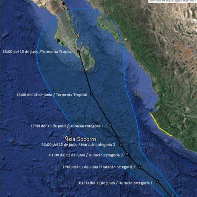 Dejan tormentas de 'Bud' daños en Guadalajara y alerta en 4 estados; el viernes llegaría a BCS