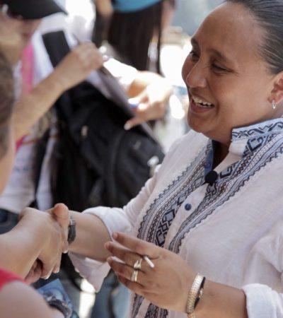 Ofrece Cristina Torres más deporte y cultura en espacios públicos de Solidaridad