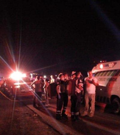 Cae autobús a canal de agua negras en Tlaquepaque; 7 muertos y 28 heridos