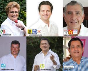 Insípido el debate entre candidatos a gubernatura de Tabasco; prometen becas por todo y para todos