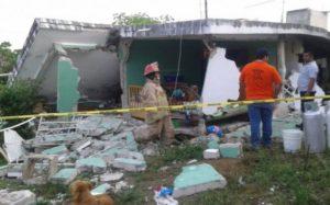 Destruye casa explosión de tanque de gas