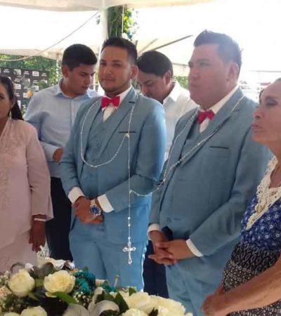 Consuman primer matrimonio igualitario en La Antigua, Veracruz