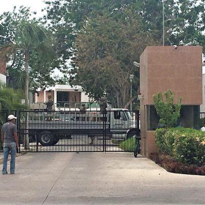 Catean federales y marinos dos casas en Chetumal, pero se equivocan de domicilio