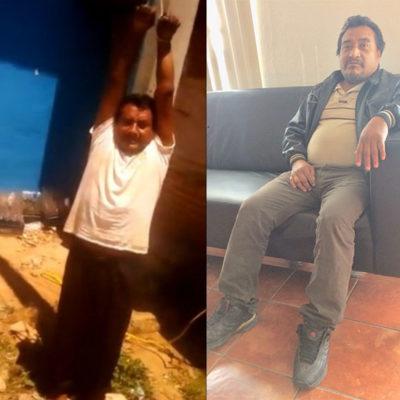 Liberan en Chiapas a Ramiro González Patishtán, secuestrado por pobladores de Los Plátanos que exigían más de 15 mdp a la alcaldía
