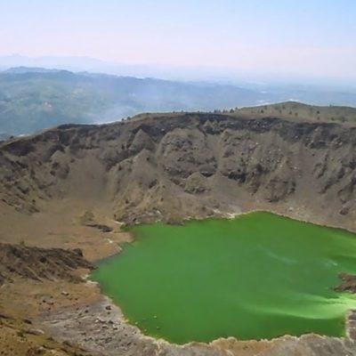 Tiene México doce volcanes activos: Chiapas y Veracruz con dos cada uno