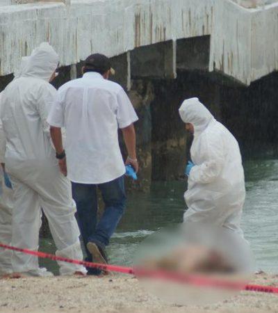 Muere joven al tirarse un clavado en el muelle de Sisal, Yucatán; un acompañante grabó el momento en video