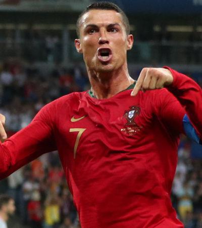 RUSIA 2018   CRISTIANO BRILLA EN EL DÍA DE LOS GOLES AGÓNICOS: Portugal empata con España, Uruguay vence a Egipto y Marruecos cae ante Irán