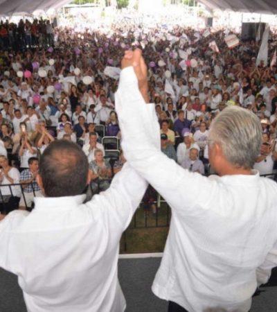 Alejandro Vera, candidato del Panal, declina por Cuauhtémoc Blanco en Morelos
