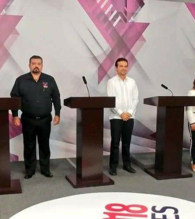 Rompeolas: Debaten personalidades y trayectorias de candidatos cozumeleños