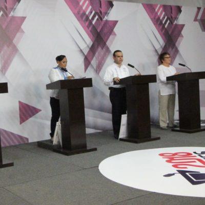 MÁS ATAQUES QUE PROPUESTAS EN DEBATE DE SOLIDARIDAD: Los cuatro candidatos se confrontan y se sacan sus 'trapitos' al sol a poco mas de 10 días de la elección
