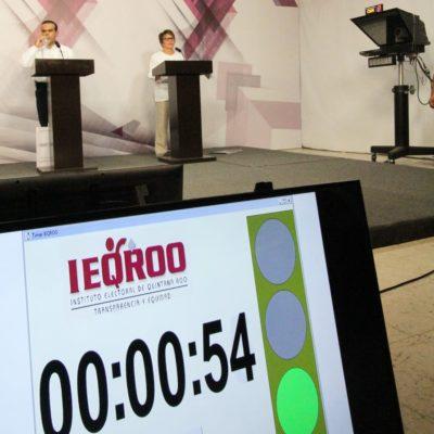 Rompeolas: 'Sabotea' el Ieqroo los debates de candidatos a alcaldes