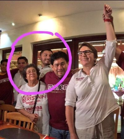 """VA A EVENTO DE MORENA, PERO PIDE QUE NO SE 'MALENTIENDA': Delegado del PRD en Cancún dice que fue un 'error' asistir a conferencia de """"mi amiga"""" Laura Beristaín, pero asegura que no se va del partido"""