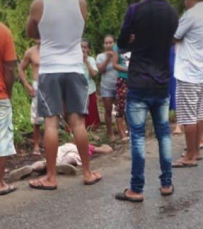 Tiran cadáver de sujeto 'levantado' un día antes por desconocidos