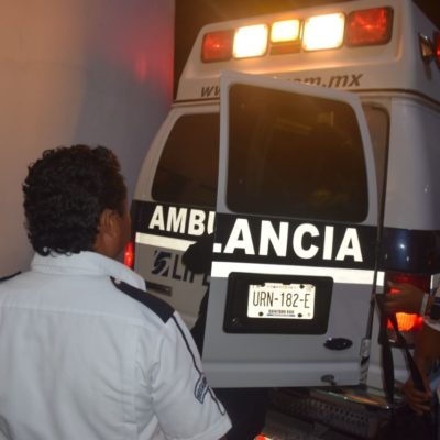 Con reporte de salud delicada, continúa internado 'El Lobo', conocido volquetero de Puerto Morelos baleado anoche