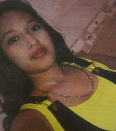 Piden apoyo para localizar a joven desaparecida en Champotón, Campeche