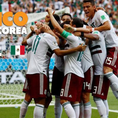 RUSIA 2018 | CON UN PIE EN LOS OCTAVOS: Con goles del cancunense Carlos Vela y Javier 'Chicharito' Hernández, México derrota 2-1 a Corea del Sur y mantiene liderato de grupo