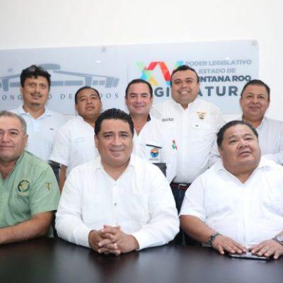 Diputados acuerdan con taxistas y presentarán el 5 de julio la reforma a la Ley de Movilidad