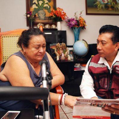 Jesús Pool promete revisar la Ley General de Desarrollo Social para que se cumplan los objetivos de abatir carencias en Quintana Roo
