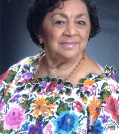 Fallece Ligia Pacheco Graniel, madre de la ex Gobernadora yucateca Ivonne Ortega