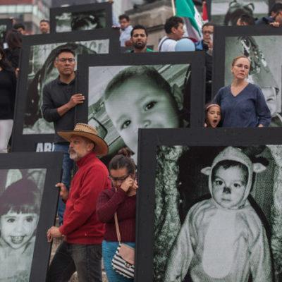 Padres de víctimas denuncian lucro con la tragedia de la Guardería ABC