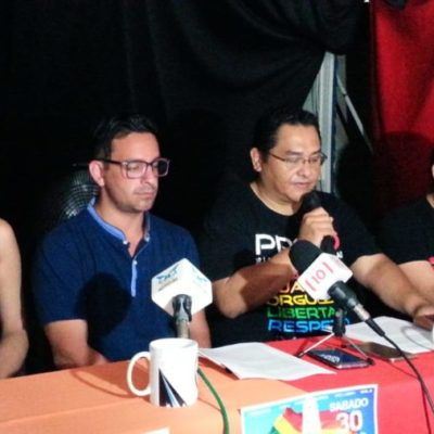Anuncian la décima marcha por la Diversidad Sexual en Chetumal; integrantes de la comunidad LGBTTTI buscan crear conciencia en la ciudadanía