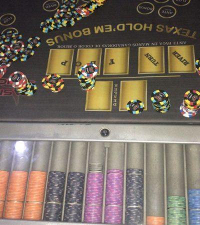 Desmantela PGR ilegal casino en Progreso