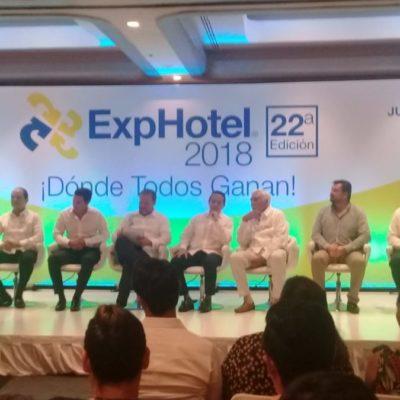 Inauguran 22ªedición de Exphotel Cancún