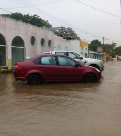 Se esperan dos días más de lluvia en Quintana Roo