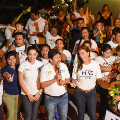 Promete Víctor Mas acabar con cacicazgo en Tulum