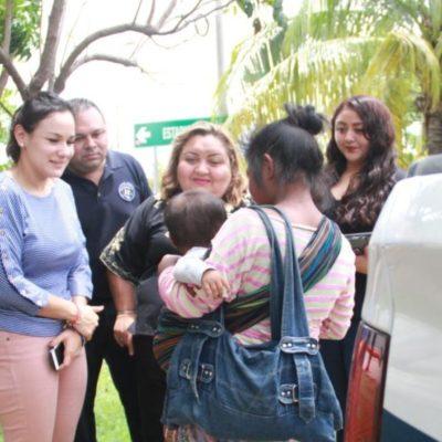 Rescatan a dos menores de edad y un adulto con discapacidad que presuntamente eran forzados a trabajar, en Cancún