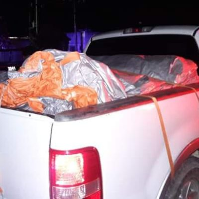ATAJAN DESPENSAS DE MORENA EN LA ZONA MAYA: Aseguran en Carrillo Puerto camioneta con paquetes atribuidos a la diputada Ivanova Pool