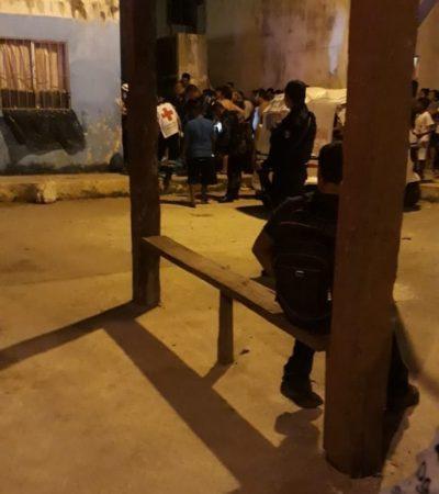 OTRO BALEADO ANTES DE CONCLUIR EL DOMINGO: Intentan ejecutar a una persona en Villas Otoch Paraíso; sicarios huyen en moto rosa