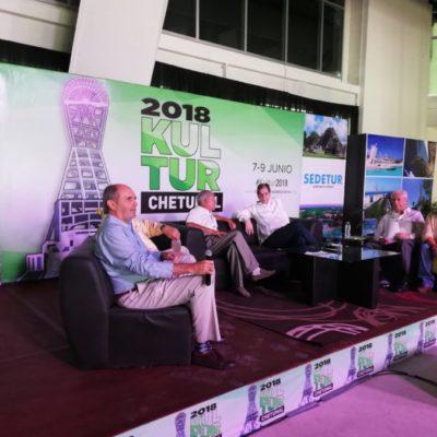 """Imparten la conferencia """"El Mestizaje, factor de identidad y lazo de unión"""" como parte del Foro Nacional de Turismo Kultur 2018"""