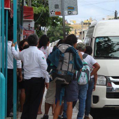 Transporte a Felipe Carrillo Puerto registra afectaciones por inundación de carretera