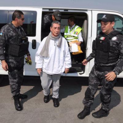 REGRESA MARIO VILLANUEVA A CHETUMAL: Trasladan al ex Gobernador de QR del Ceferepsi de Morelos al Cereso de Chetumal para que continúe su proceso por 'lavado de dinero'